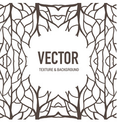 Pattern background root vector