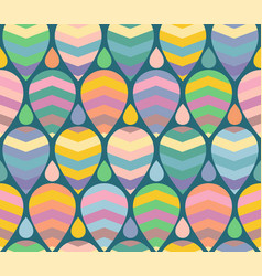 Retro funny pattern for holidays vector
