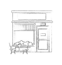 Shop store cartoon vector