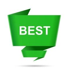 speech bubble best design element sign symbol vector image