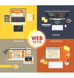 Website building vector