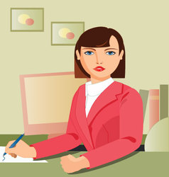 Secretary-working vector