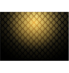 abstract gold exotic thai seamless pattern vector image