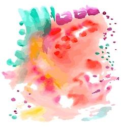Abstract sea watercolor background vector