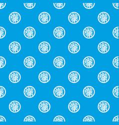 asian salad pattern seamless blue vector image