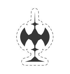 Decoration ornament element icon vector