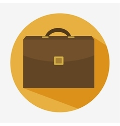 portfolio briefcase business icon vector image