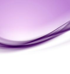 Purple satin smooth swoosh line abstract modern vector