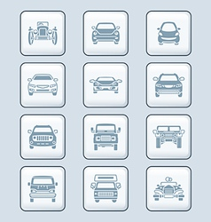 Cars set - TECH series vector image vector image