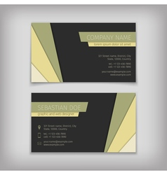 3306 business cards 03 vector image vector image