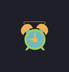 alarm clock computer symbol vector image
