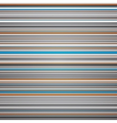 Abstract striped blue grey and orange background vector image