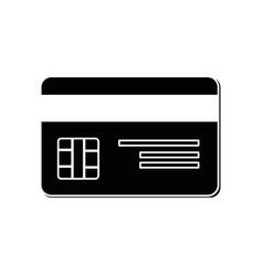 credit card bank vector image