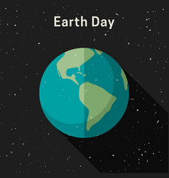 earth day banner vector image