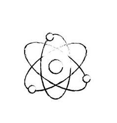 Figure physics orbit chemistry science education vector