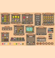 Game gui 42 vector