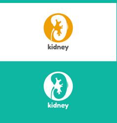 Human kidneys logo vector