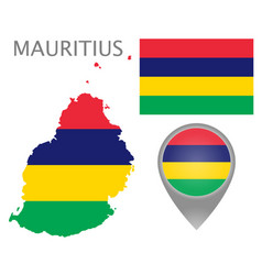 mauritius vector image