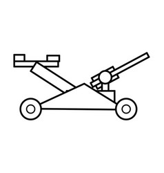 Mower garden tool vector