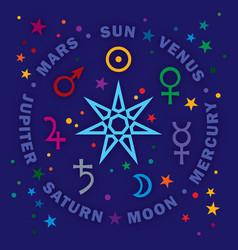 Septener star magicians seven planets