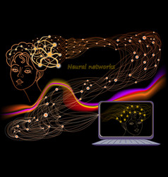 Stylized activity in human brain with deep neural vector