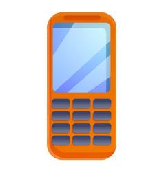 Survival phone icon cartoon style vector