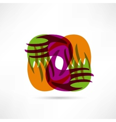 creative union icon vector image