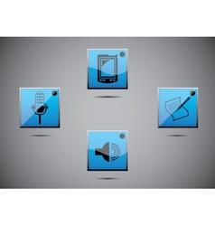 icon set color vector image