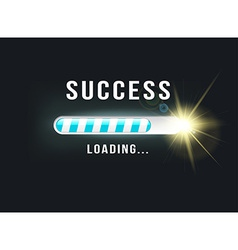 loading SUCCESS vector image