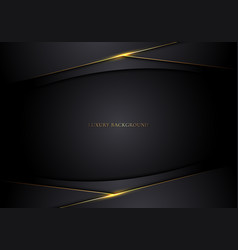 abstract modern template 3d black stripes with vector image