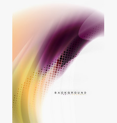 Background abstract fluid colors design vector