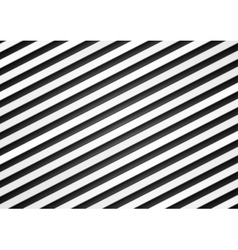 Black and white stripes pattern design vector