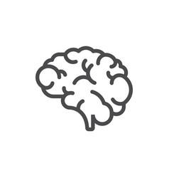 Brain icon design vector