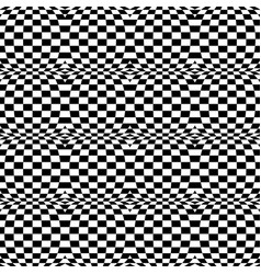 Checkered patterns with distortion deformation vector