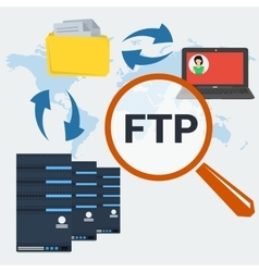 Concept server ftp connection vector