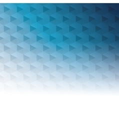 geometric blue tones background patterns icon vector image
