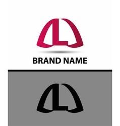 Logo L letter design template vector