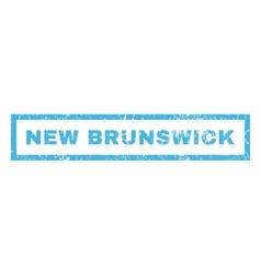 New Brunswick Rubber Stamp vector