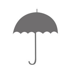 Umbrella accessory isolated icon vector