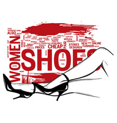 woman legs in fashion high heels shoes pop art vector image