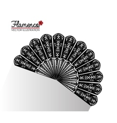 Flamenco culture design vector image