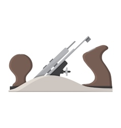 jointer plane hand tool for carpentry vector image