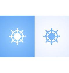 Logo of Steering wheel vector image