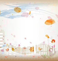 antique artistic watercolor background vector image vector image