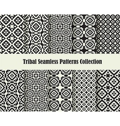 tribal cross ornament vector image