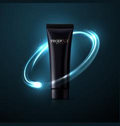 Cosmetic packaging design vector