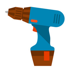 electric screwdriver vector image