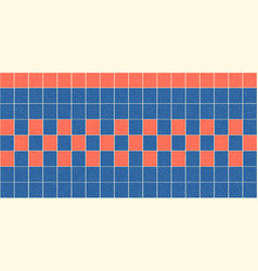 flat seamless of glazed tiles with noise vector image