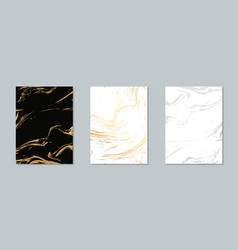 gold marble pattern background marble vector image