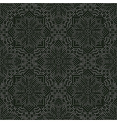 vintage retro seamless pattern Decorative vector image